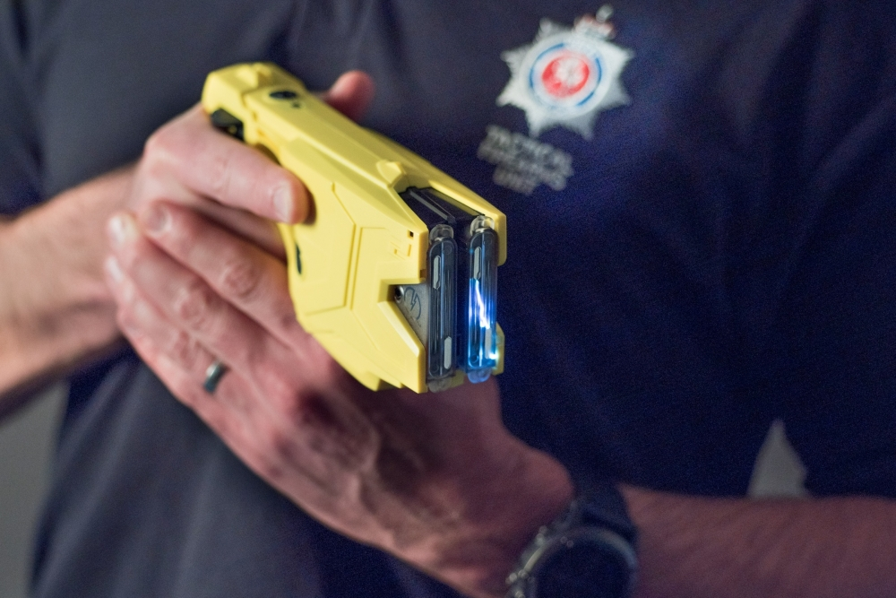 Hundreds more police given Tasers in fight against knife crimes