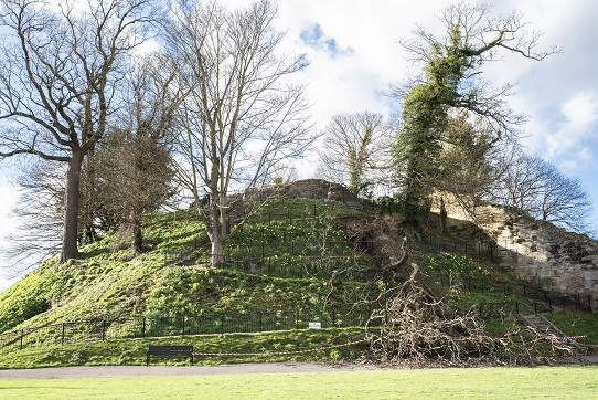 £20,000 needed to repair storm damage at Tonbridge Castle