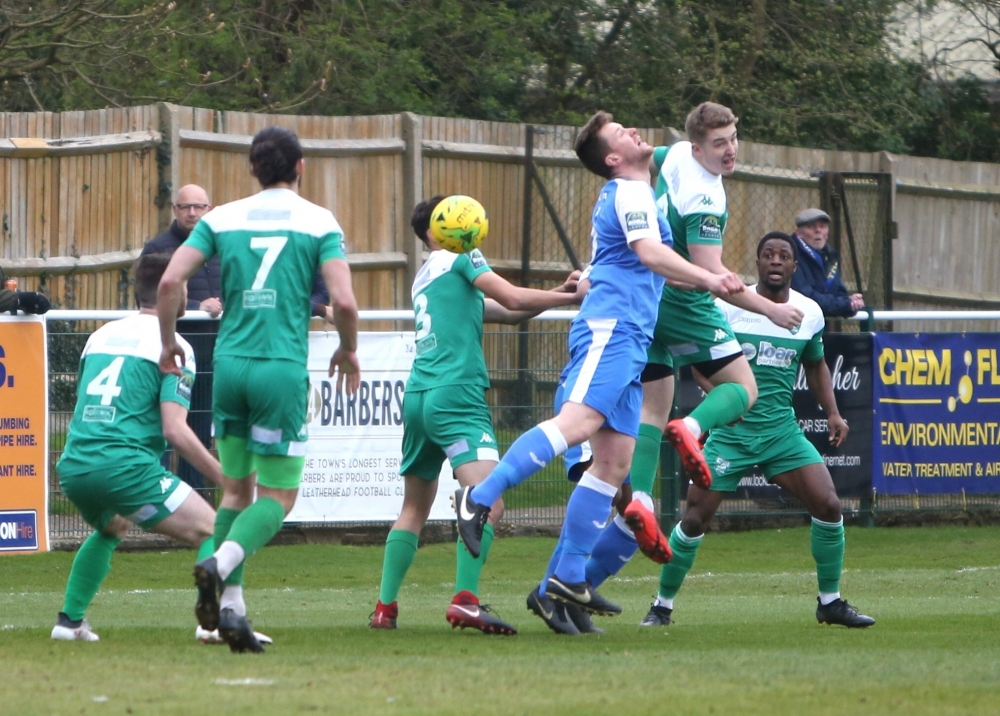 Football: Tonbridge Angels frustrated by well-drilled Leatherhead