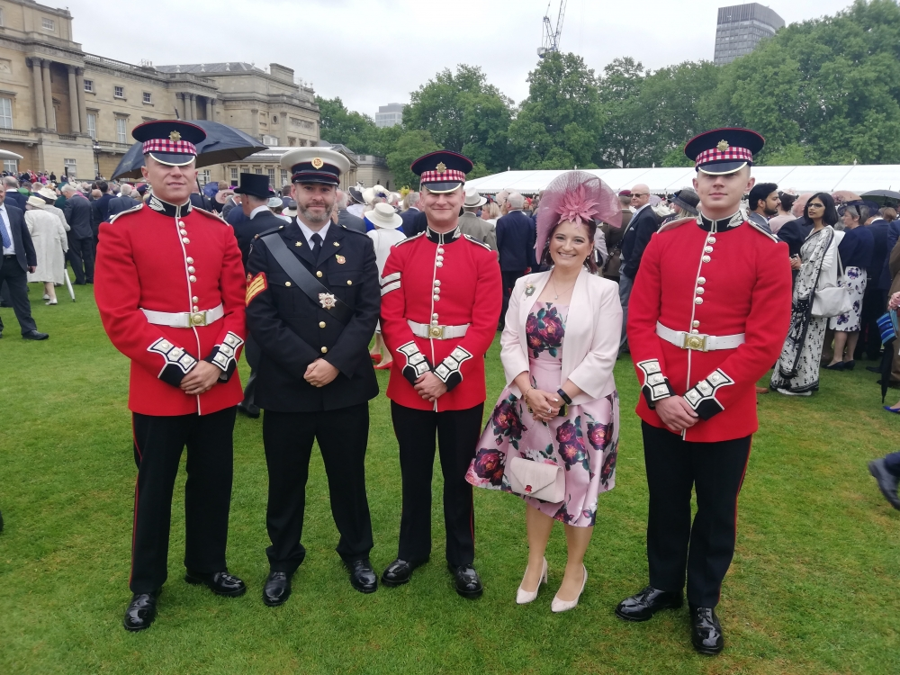 On her majesty's security service – tea party at the Palace