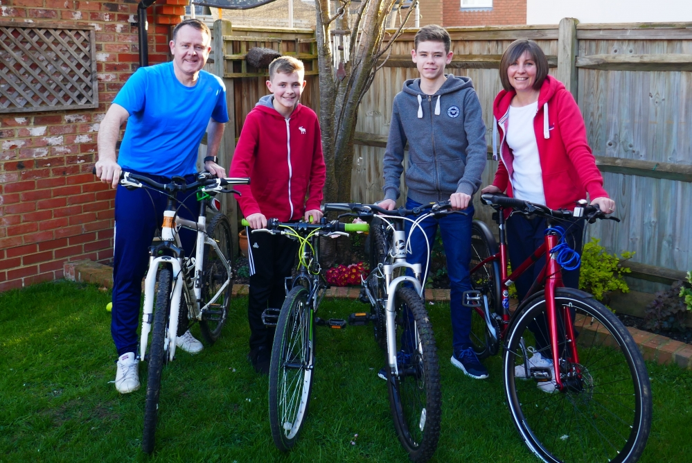 Three scenic cycle tours of Kent to support Hospice in the Weald