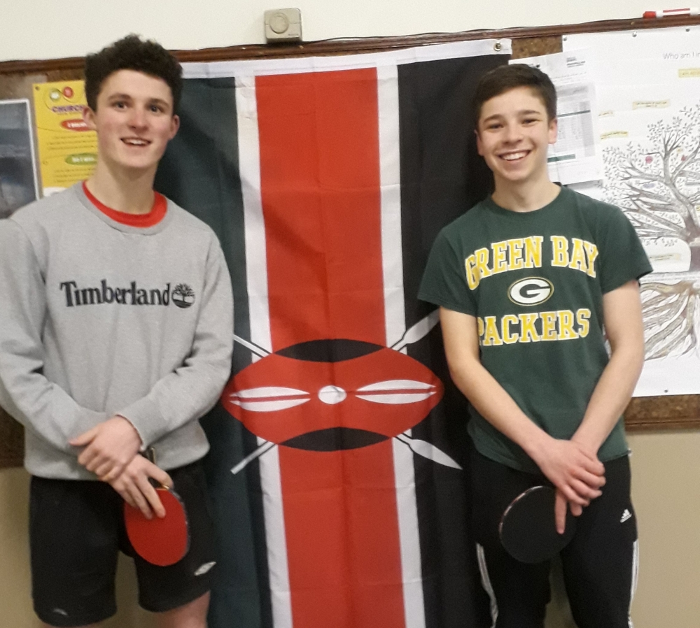 Tunbridge Wells students serve up table tennis marathon to fund African mission