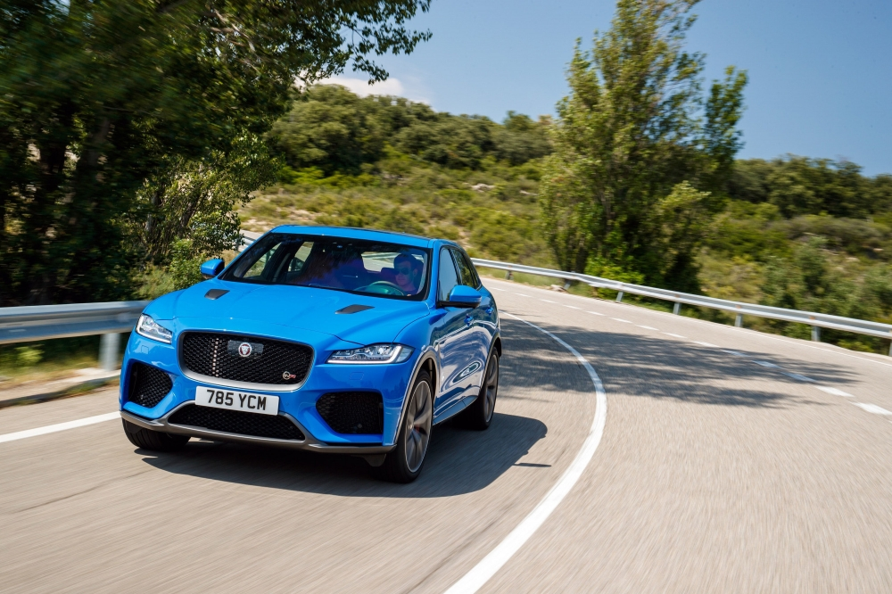 First Drive: Jaguar F-Pace SVR