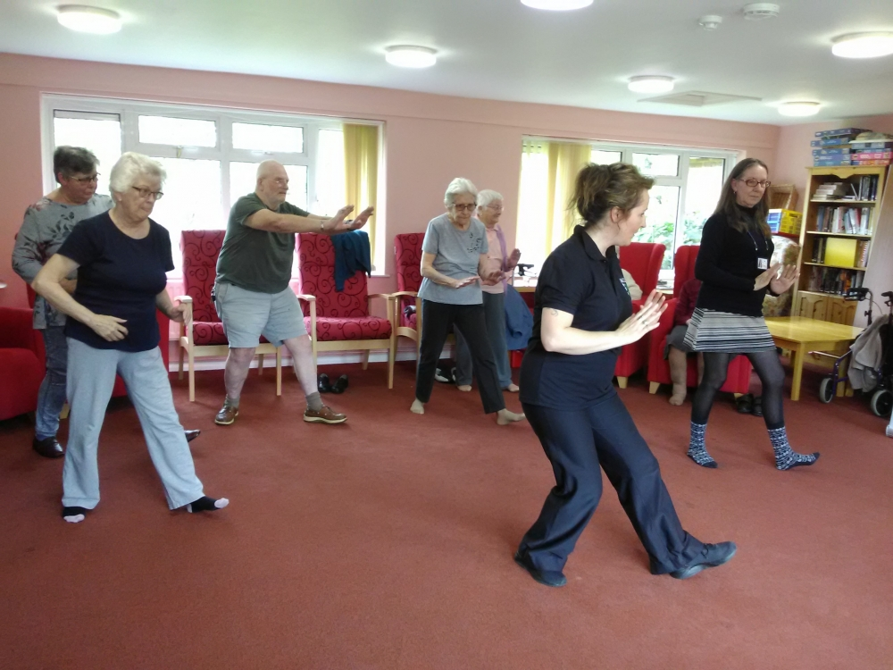 Free Tai Chi and Pilates for over-55s in Tunbridge Wells