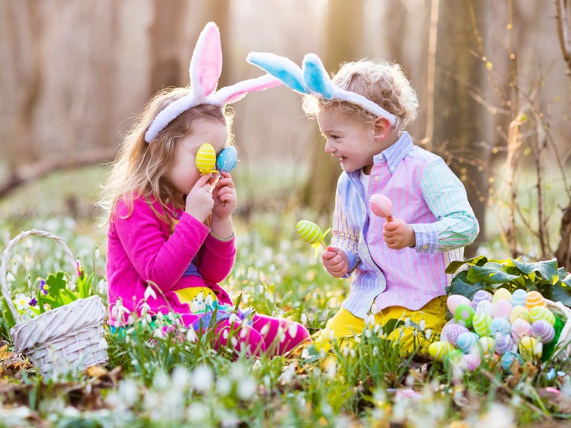 6 egg hunts for Easter Day