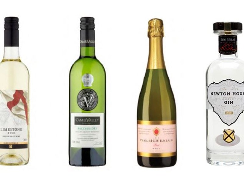 Wine and gin to slake your thirst this St George's Day
