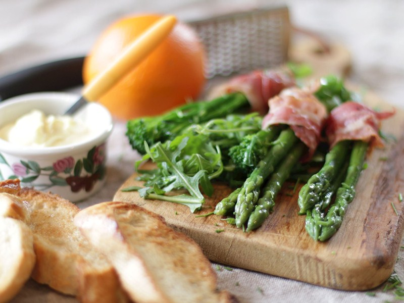 Recipe of the week: Bruce McMichael's Kentish asparagus