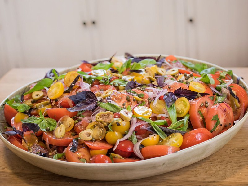 Recipe of the week: Daniel Hatton's tomato salad