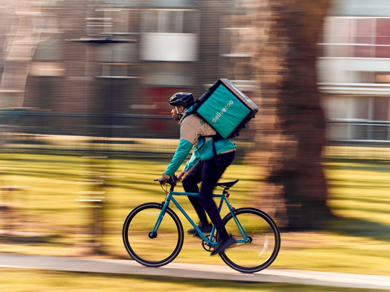You can now order Deliveroo in Tunbridge Wells parks