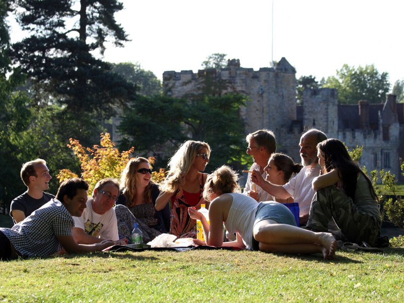 Taking centre stage at Hever's summer festival