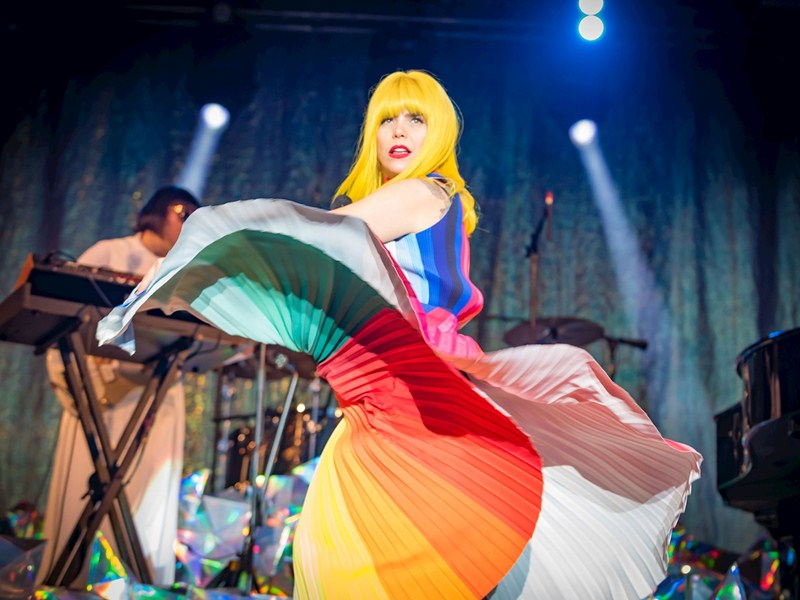 Music at Bedgebury: Paloma Faith dazzles as Billy Bragg saves the day