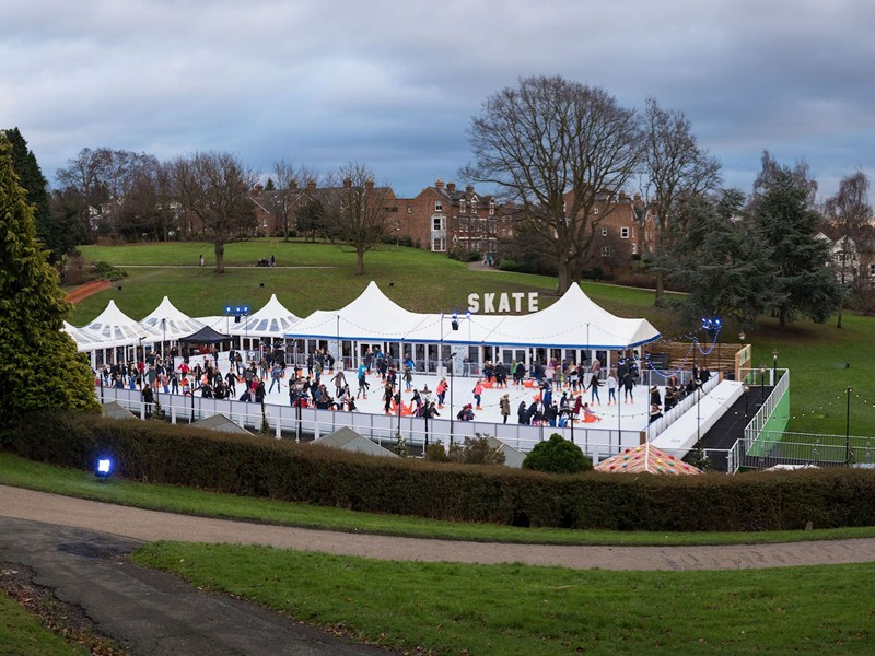 Ice rink proves a cool event for council after making £56k