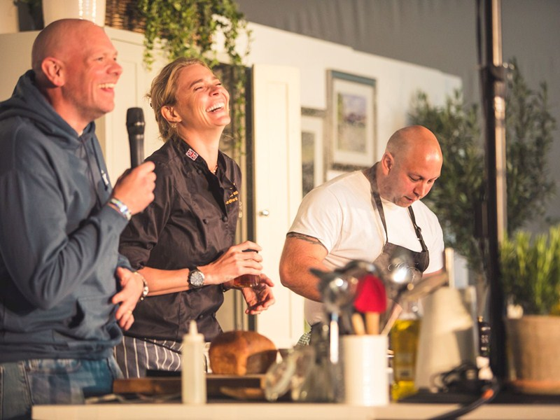 Dunorlan gears up for Tom Kerridge's Pub in the Park
