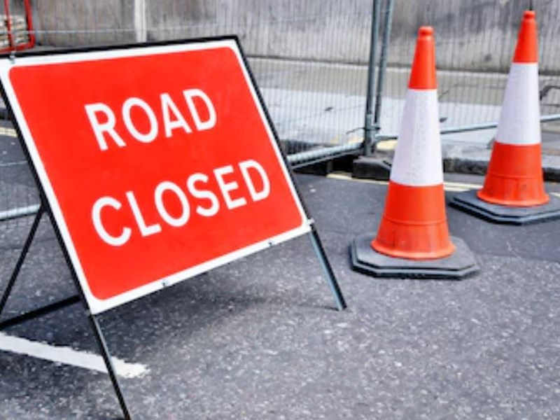 St John's Road to be partially closed until end of August