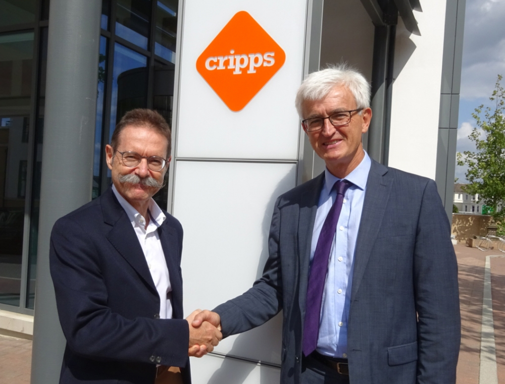 French connection in Tunbridge Wells as minister visits Cripps