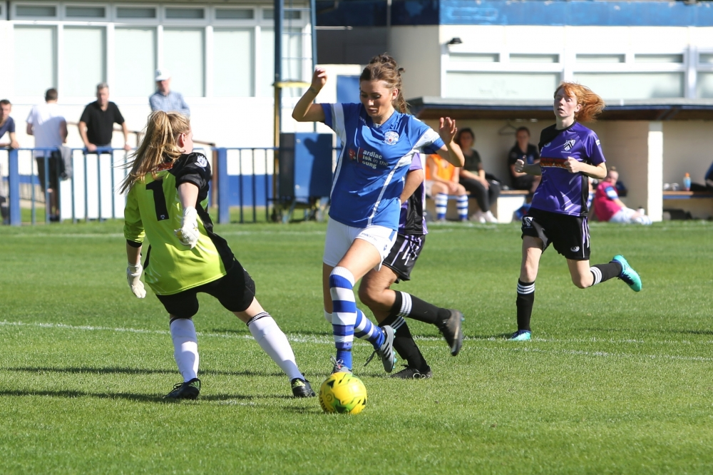Football: Mackley and Underhill hurry Tonbridge Angels Ladies to victory