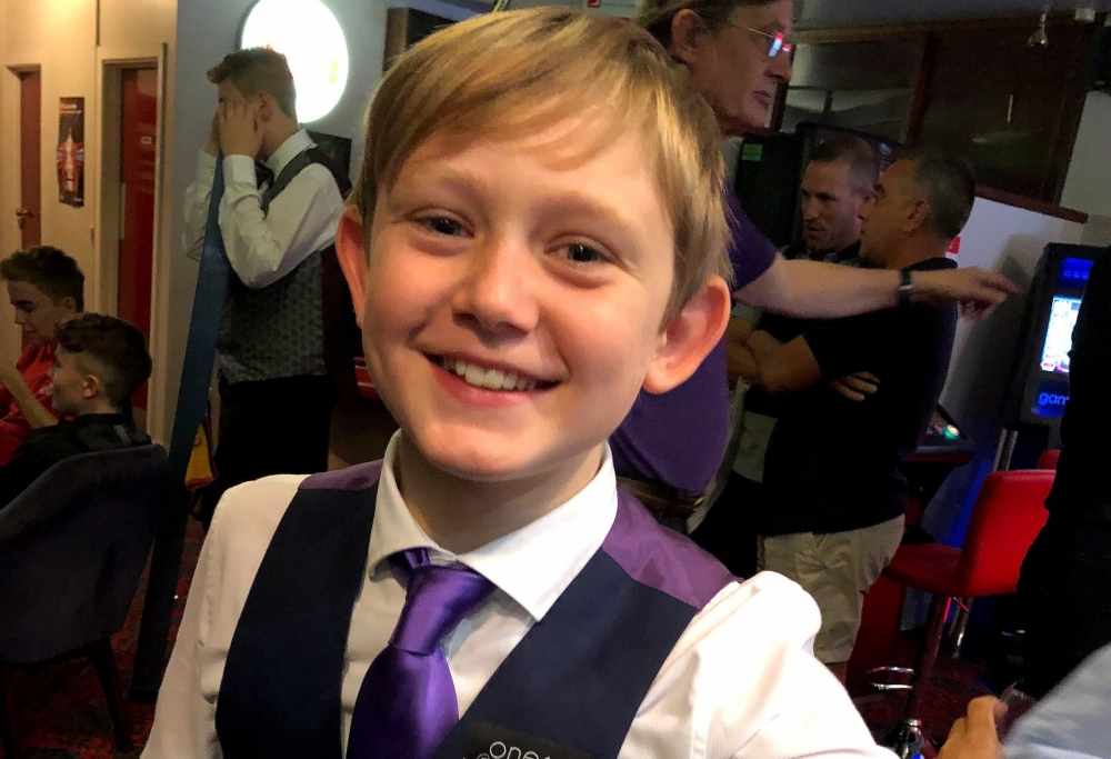 Snooker: Dylan dazzles in first tournament after coaching from the experts