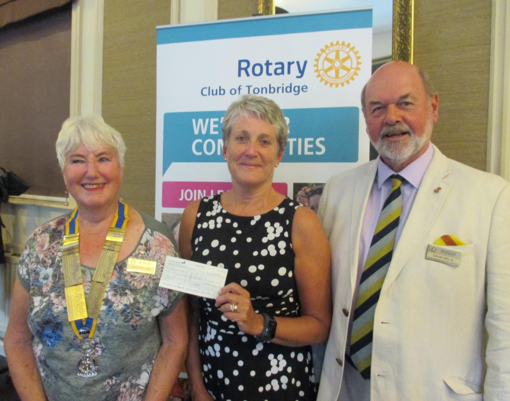 Rotary Club and Compaid join forces to help fulfil ambitions