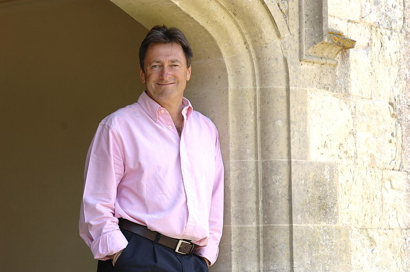 Alan Titchmarsh turns over new leaf in Tonbridge