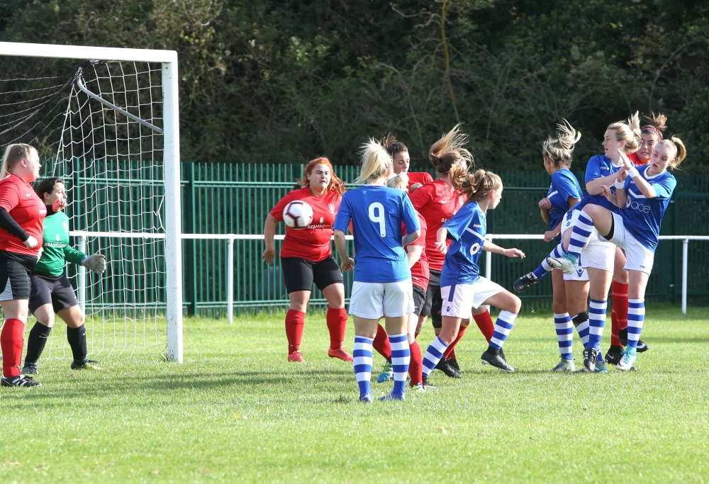 Football: Prolific Burton seals first away win for Tonbridge Angels Ladies