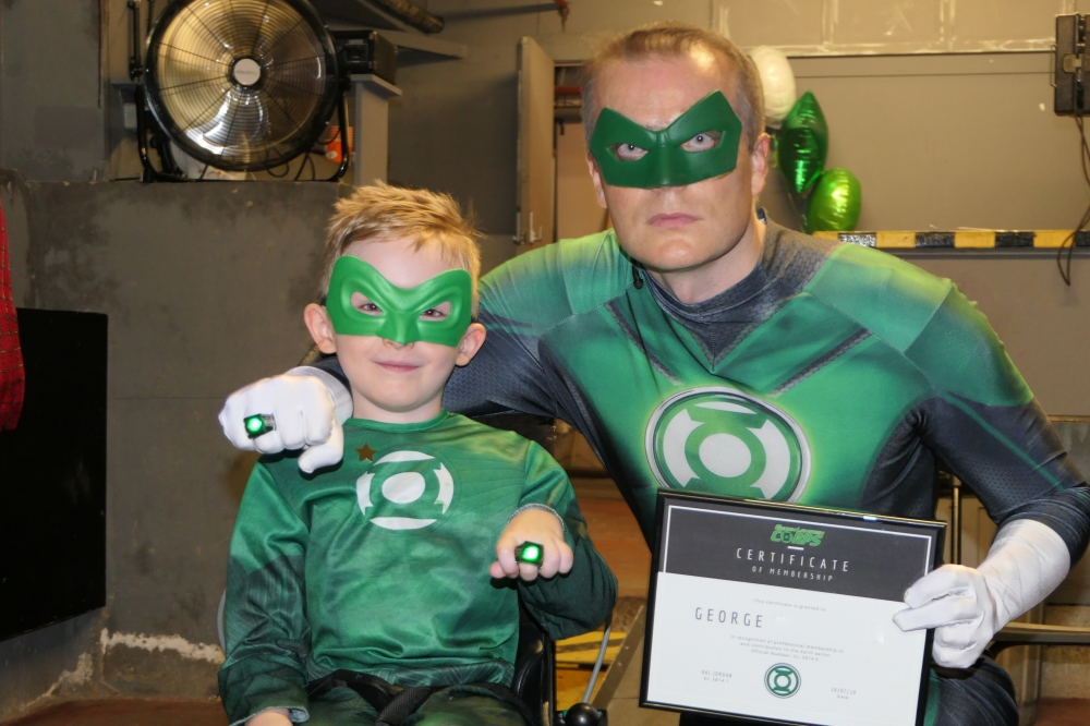 Wish comes true as Tunbridge Wells boy turns into superhero