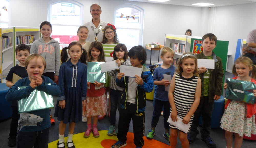 Mischievous children win Tonbridge's Summer Reading Challenge