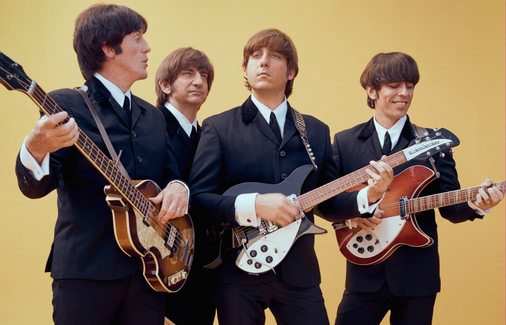 Twist and shout for this fab four!