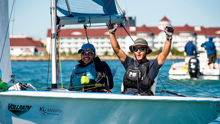 World para sailing gold after Bewl trial