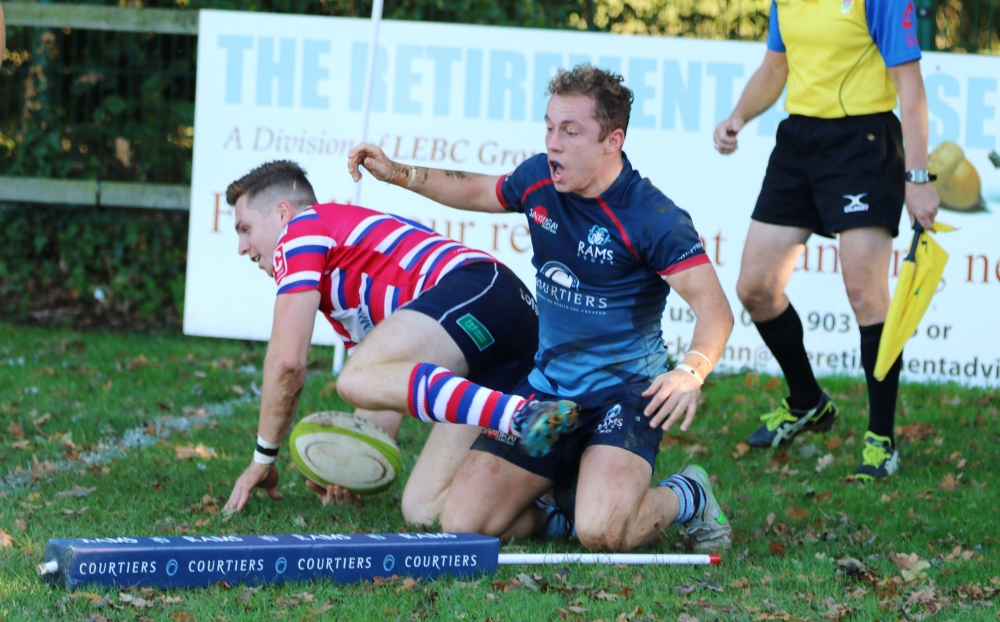 Rugby: Mighty Rams pack proves too strong for Tonbridge Juddians