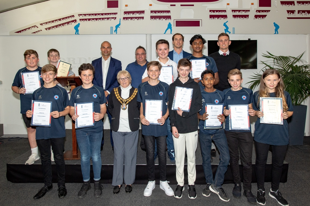Tonbridge & Malling's future cricket leaders are lords for a day