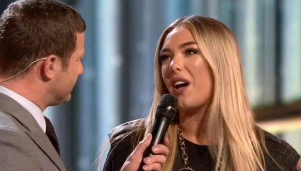Bella Penfold has been eliminated from the X Factor