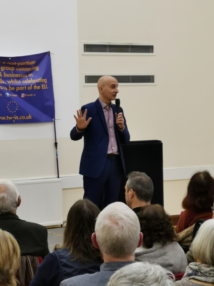 Lord Andrew Adonis gives his take on Brexit in Tunbridge Wells speech