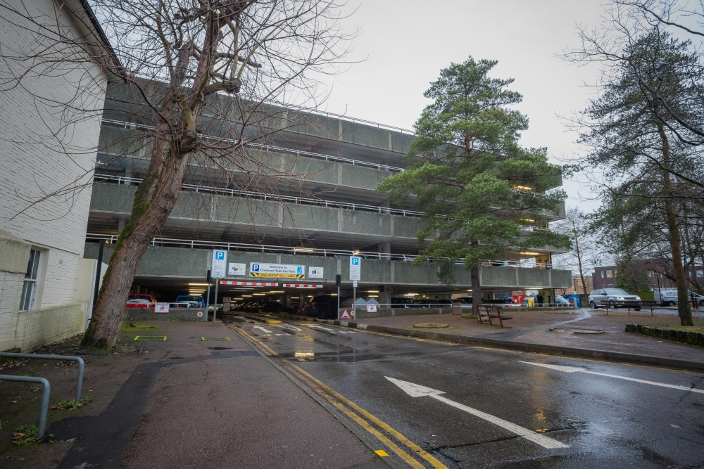 Work will begin again on Crescent Road Car Park after Christmas