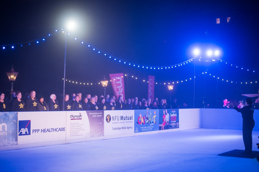 All the best pictures from the Tunbridge Wells Ice Rink launch