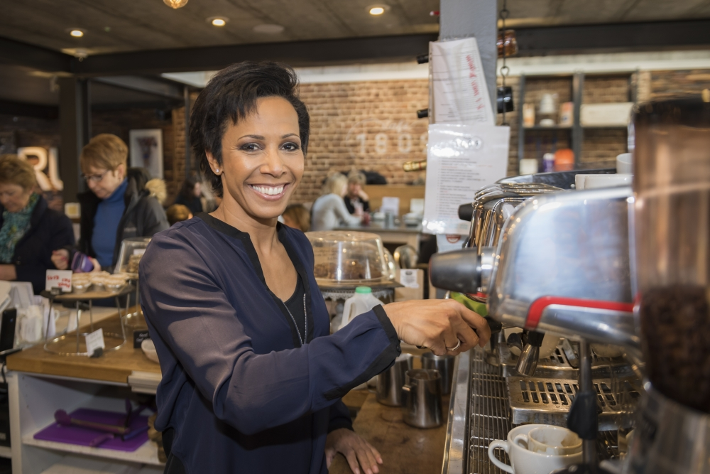 Dame Kelly closes café to focus on new ideas for village