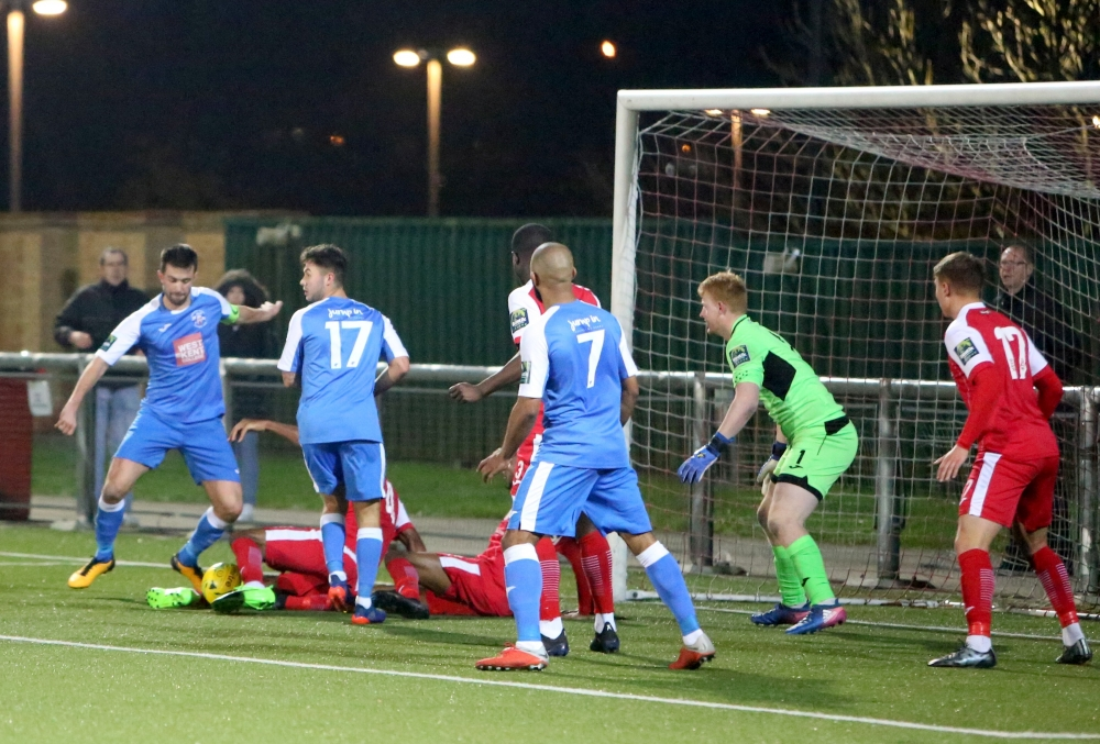 Football: Falling Tonbridge Angels slip to third straight defeat