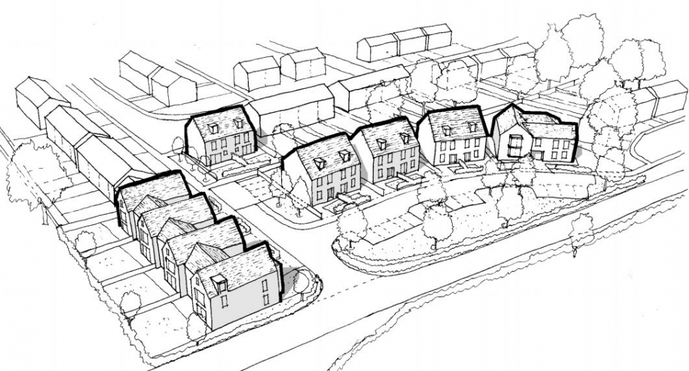 Sixteen homes proposed for Southborough