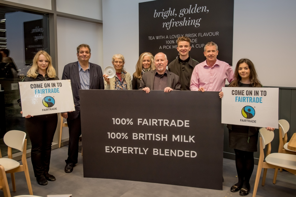 Big boost for business as Tonbridge is awarded Fairtrade accolade