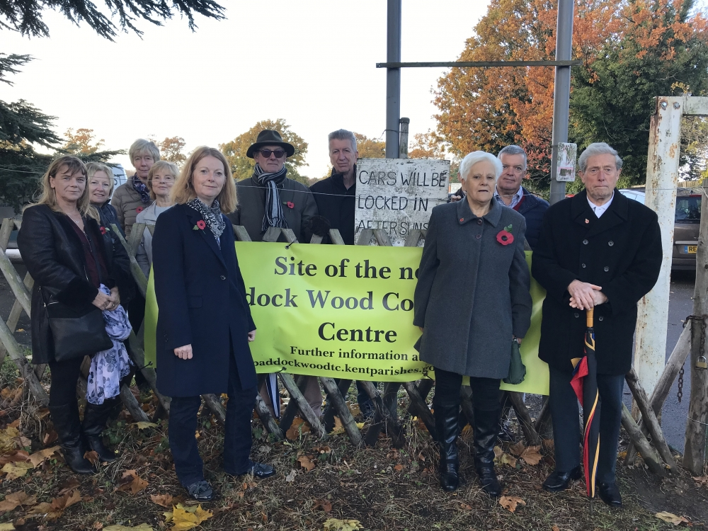 Community Centre opponents win a banner battle but could lose the war