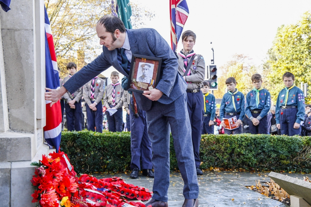 Pembury unveils new war memorial with name of forgotten soldier
