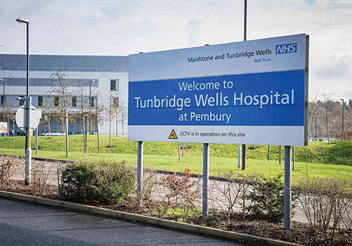 Tunbridge Wells Hospital missed three NHS targets but is out of special financial measures