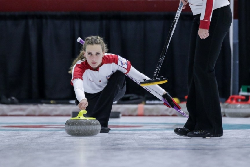 Crowborough's Sydney sweeps all before her on curling world stage