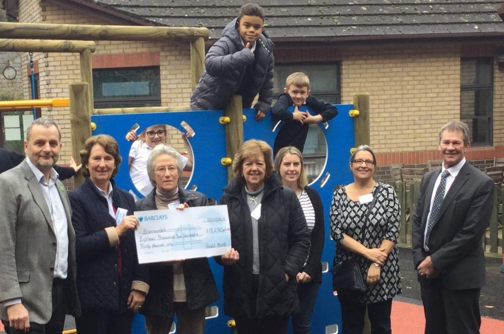 Barnardo's helpers raise £18,000 for new Tunbridge Wells special needs school