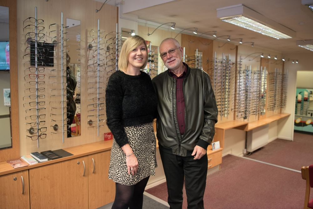 Optician helped prevent Tonbridge grandad from a stroke