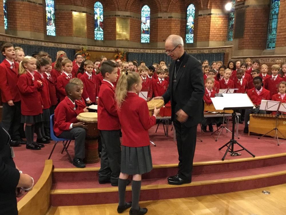 Archbishop drops into Tonbridge to offer hope