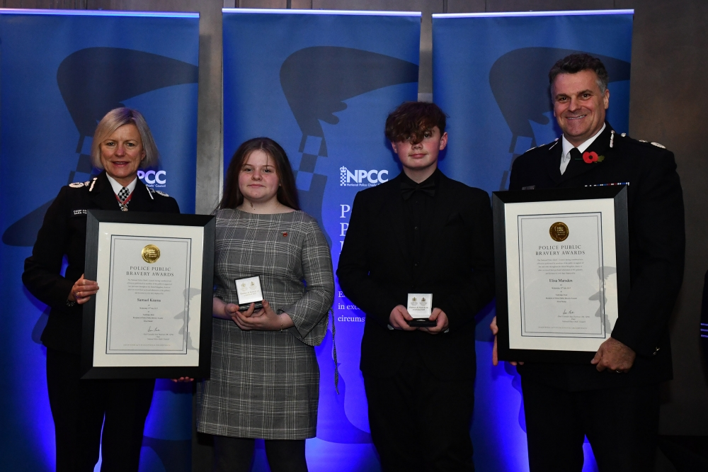 Bravery award for Tonbridge teens after sex offender arrested