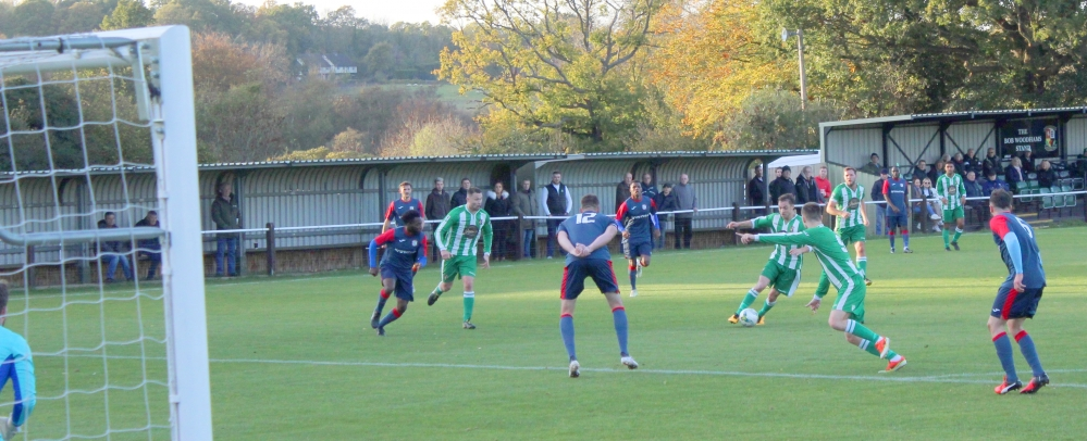 Football: Leaders Beckenham prove too strong for Rusthall