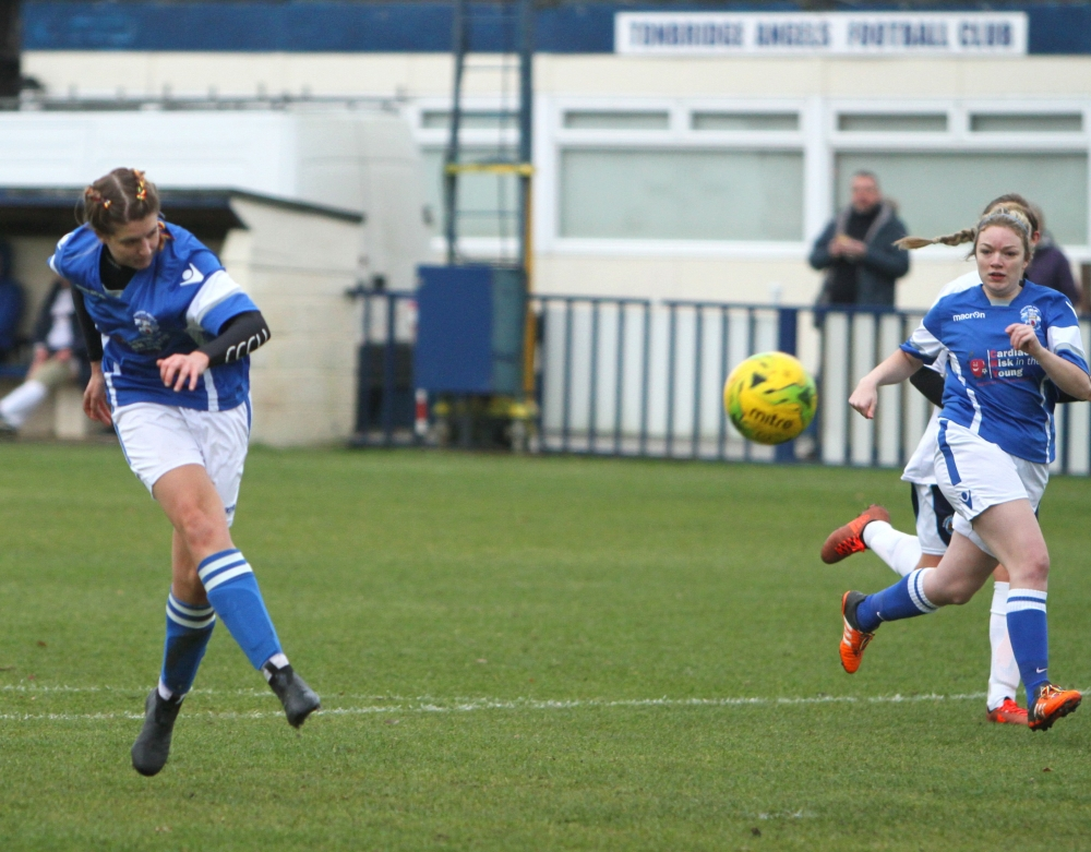 Football: Tonbridge Angels Ladies give mighty Ashford a scare