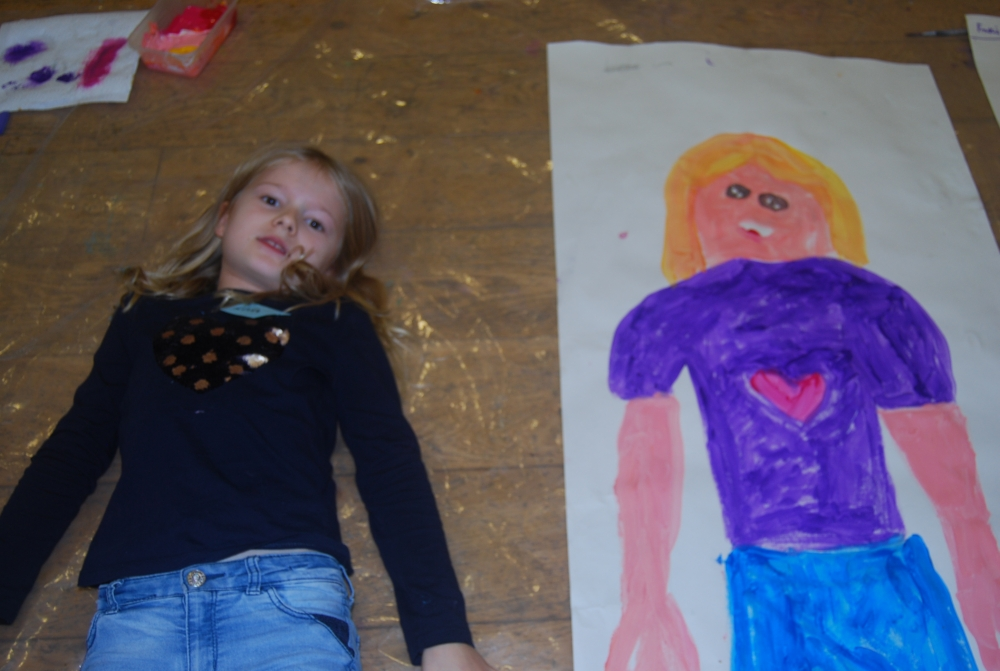 Children explore art and meditation in Tunbridge Wells