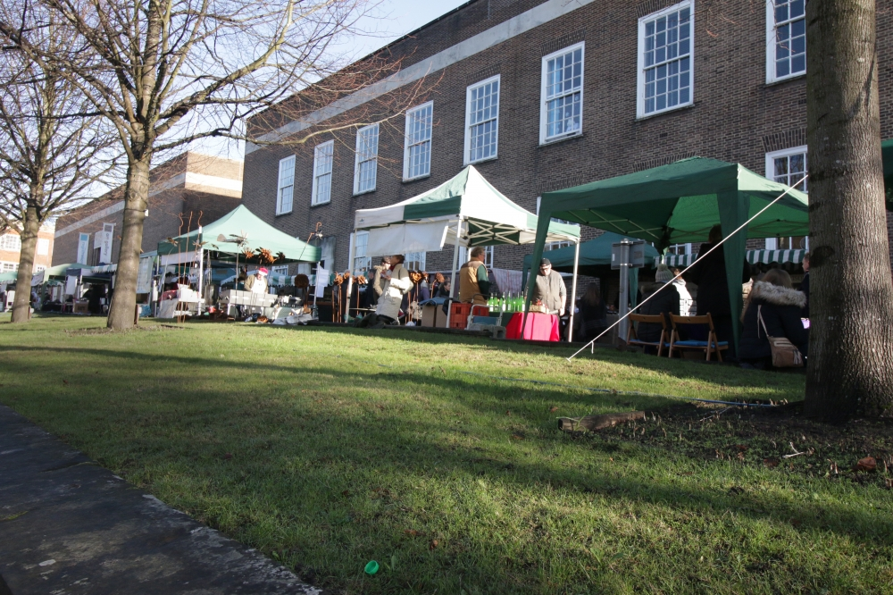 Stallholders are left out in the cold as building work forces market closure